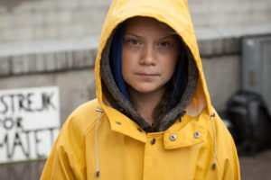 Greta Thunberg - Photo by Anders Hellberg for International Policy Digest